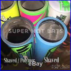 2 For $100 SlowithFast Pitch Shaved Bats Shave, Roll+Poly Homerun Derby Bats
