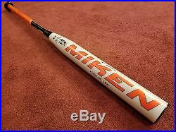 2017 Miken Freak Platinum Balanced mfptbu 26 oz. USSSA Softball Bat with Warranty