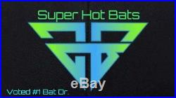 3 For $140 SlowithFast Softball Shaved Bats. Shave, Roll, poly Homerun Derby Bats