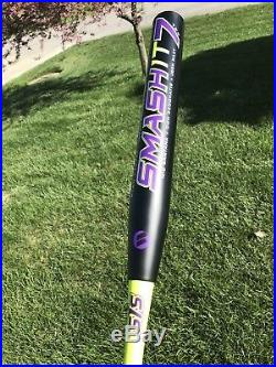 5 hits total 2018 Worth SIS Smash It 7 25oz USSSA SLOWPITCH SOFTBALL BAT