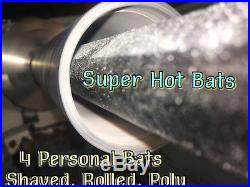 Bat Shave Roll And Polymer For 4 Slowithfast Pitch Softball Shaved Bats