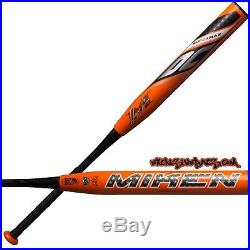 Clean, Rolled or Shaved Rolled+Polymer Miken DC-41 Supermax 14 USSSA Bat