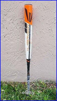 Easton Laservision 27oz. HOT shaved and rolled. Slowpitch softball bat