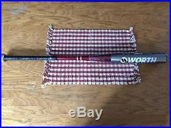 Rare GemNEW IN WRAPPER 27oz Red handle Worth PST MAX120 WS137 Long Shell Bat