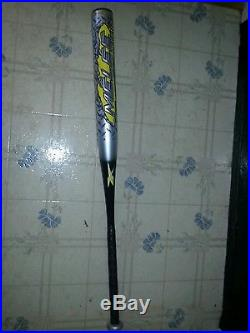Reebok melee senior end load softball bat barely used 34/28