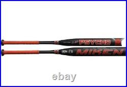 SHAVE and Rolled 2019 Miken Psycho 2PC USSSA Softball Bat 25oz And 25.5oz
