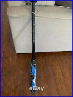 SHAVED, ROLLED, POLYMER COATED DNA Slowpitch Softball Bat